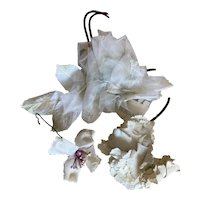 Bella Bordello Vintage Millinery Collection Shabby Chic White