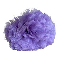 Bella Bordello Antique Vintage Millinery Feather Plume Lavender
