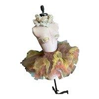 Bella Bordello OMG Vintage German Opera Ballet Theater Costume Tutu Skirt Tulle Lace