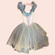 Bella Bordello Vintage Ballet Tutu Costume Professional German Opera Sleeping Beauty Pastel Lace