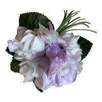 Bella Bordello Vintage Millinery Flower Lavender Purple