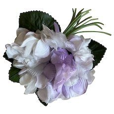 Bella Bordello Vintage Millinery Flower Lavender Purple