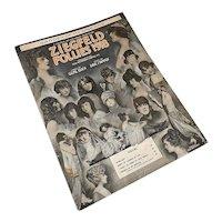 Bella Bordello Antique Vintage 1920s Sheet Music Ziegfeld Follies 1918 Showgirl