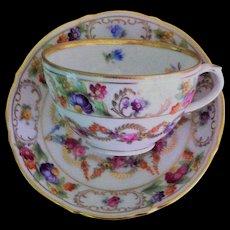 Exquisite Shumann Demitasse Cup/Saucer