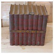 French tole ware book box