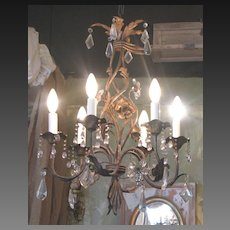 French Maison Bagues style Crystal Chandelier