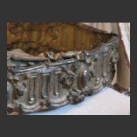 RARE*  19th Century French Gilt Tin Trim Edging   6ft.