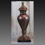 French Antique Copper Samovar