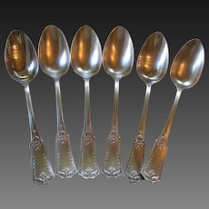 Antique French Chambly SFAM Silverplate Spoons