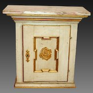 19th Century Painted Wall or Floor Cabinet