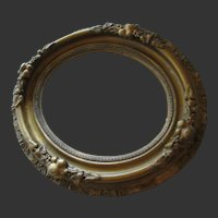 Baroque style gilded frame