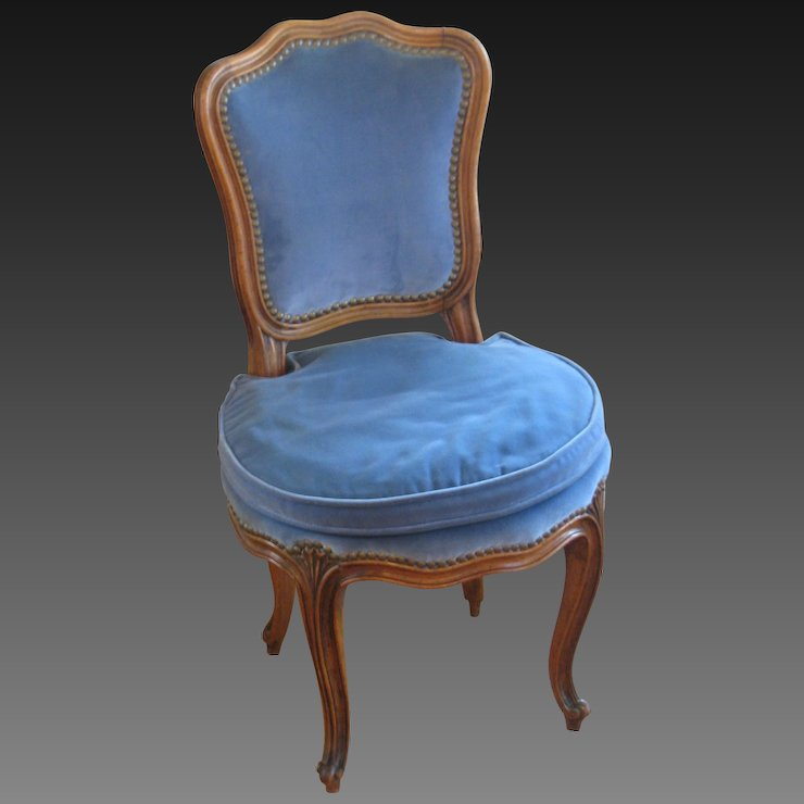 French Louis XV Style Childu0027s Chair