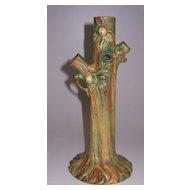 Weller Pottery Woodcraft Bud Vase
