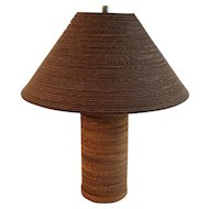 Vintage Gregory Van Pelt  Cardboard Lamp 1970's