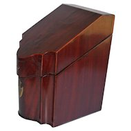 Antique Mahogany Letter Box 1860's
