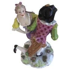Achille Bloch French Porcelain Couple Dancing
