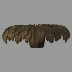 Wonderful Metal Architectural Acanthus Leaf Capital 16""
