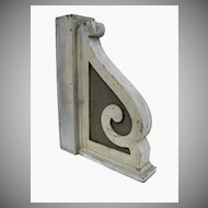 Pair of Painted Architectural Brackets