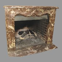 French Marble Fireplace Surround Mantel