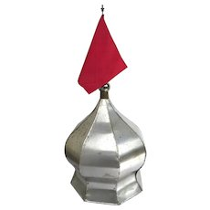 Vintage Spire Cupola Flag Pole Architectural Finial Steeple Turret