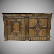 XVI Century Walnut Italian Panel Architectural