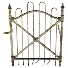 Vintage Architectural Wrought Iron Gate