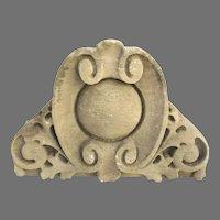 Architectural Building Ornament Limestone Fragment Capitol