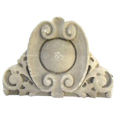 Architectural Building Ornament Limestone Pediment Arch