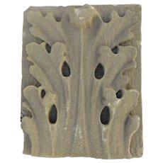 19th Century Architectural American Limestone Fragment