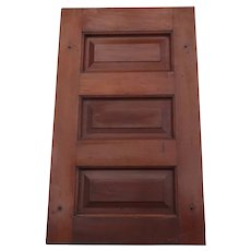 Quality 1900's Cherry Paneled Cupboard Door Paneled Architectural