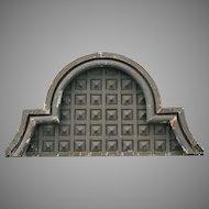 Zinc Architectural Piece Transom Arch Missouri