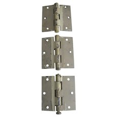 Vintage Shabby Heavy Duty Iron Door Hinges