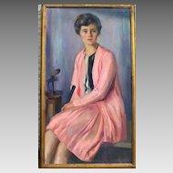 Oil on Canvas by John Hubbard Rich 1919