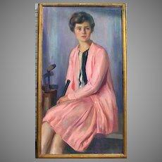 Oil on Canvas by John Hubbard Rich 1919 A.619