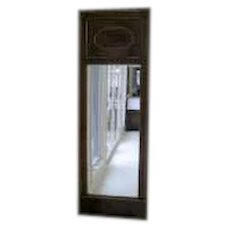 French Empire Long Narrow Mahogany Mirror