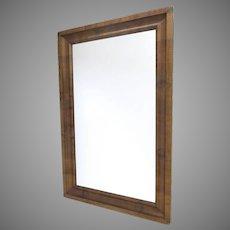 American Empire Walnut  Mirror