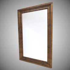 American Empire Walnut  Mirror