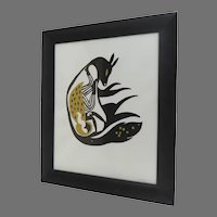 Print by Karoline Scnoor Dated and Signed Lower Right 2012  20/20