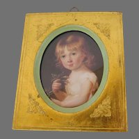 Vintage Italian Italy Florentine Gold Picture Frame