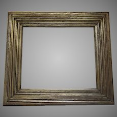 Vintage Quality French Silver Gold Gilt Frame