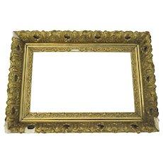 19th Century Gilt Frame Restoration Re-purpose Fancy