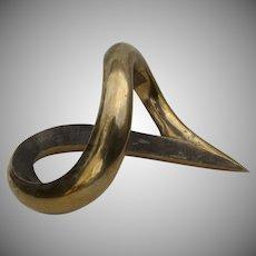A.Dreher 1977 Bronze Modern Sculpture Signed