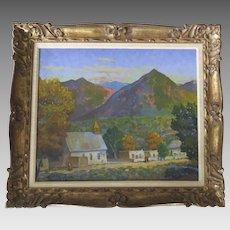 Oil Painting by Harold Vincent Skene Galesteo