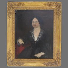 19th Century Portrait of a Woman from Philadelphia