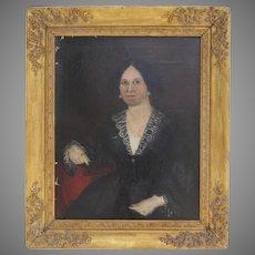 19th Century Portrait of a Woman from Philadelphia