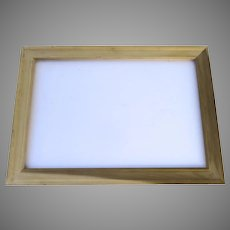 Vintage Picture Frame Un-Finished Large Non-Directional