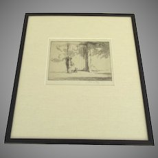 The Garden Gate by Eileen Alice Soper  (1905 - 1990)
