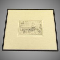 Bedtime 1922 by Eileen Alice Soper (1905 - 1990)