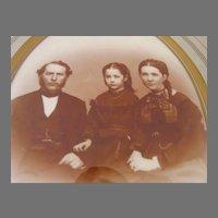 Late 19th Century Walnut Frame with Gilt Slip