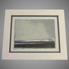 Signed Artist Proof Giclee Landscape Framed by Colorado Artist Edwin Friedman
